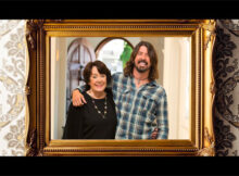oo Fighters' Dave Grohl with his mother Virginia Hanlon Grohl