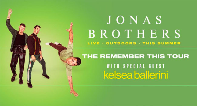 Jonas Brothers announce Remember This Tour with Kelsea Ballerini