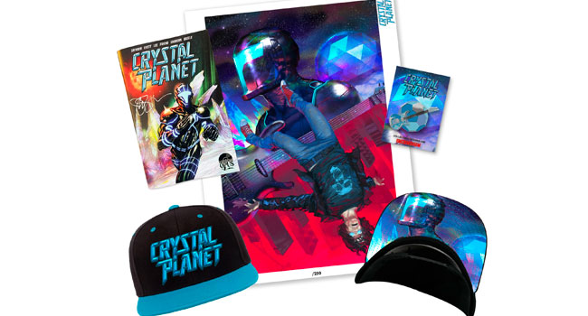 Joe Satriani sets issue two of 'Crystal Planet' comic book series