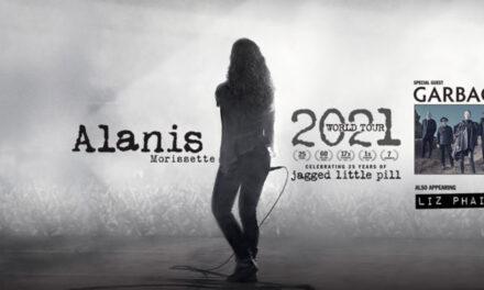 Alanis Morissette announces 2021-2022 world tour dates