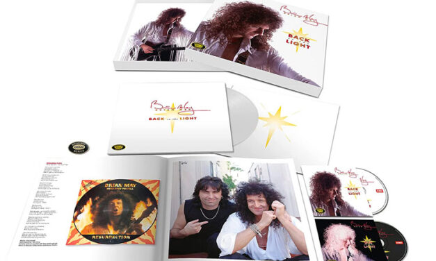 Brian May announces 'Back to the Light' reissue