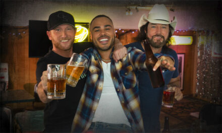 Shy Carter shares 'Beer With My Friends' with Cole Swindell & David Lee Murphy