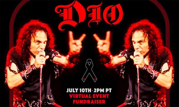 Ronnie James Dio birthday livestream fundraiser detailed
