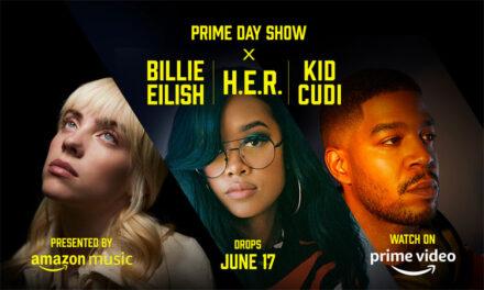 Billie Eilish, H.E.R. & Kid Cudi part of Amazon Prime Day Show