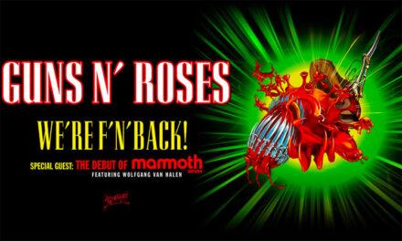 Guns N Roses relaunching US tour