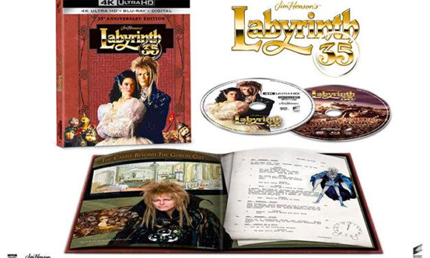 David Bowie's 'Labyrinth' getting 4K Ultra HD treatment